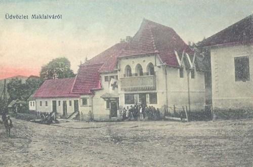 Makfalva:hadi korház.1917
