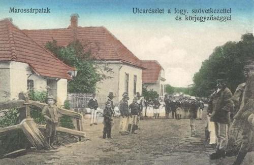 Marossárpatak:Fogyasztási Szövetkezet és körjegyzőség.1916