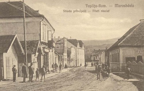 Maroshéviz:főút.1928