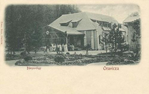 Oravicza:Bánya völgy.1902