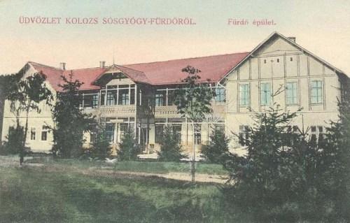Kolozs-sós-gyógyfürdő:fürdő épület.1912