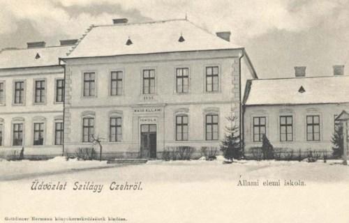 Szilágycseh:Magyar Királyi Állami iskola,1892-ben alapitva.1904