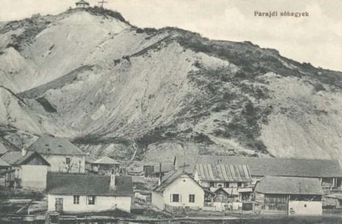 Parajd:sóhegyek.1912