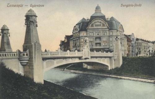 Temesvár:Hungária fürdő(Gyárváros).1912