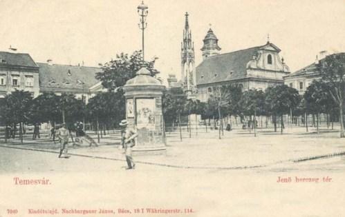 Temesvár:Jenő herceg tér.1902