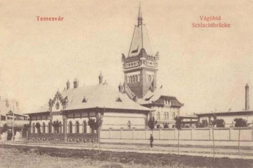 Temesvár:Vágóhid.1909