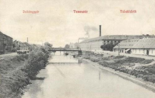 Temesvár:Dohánygyár.1908