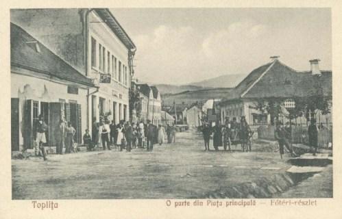 Maroshéviz-Toplita:főtéri részlet.1933