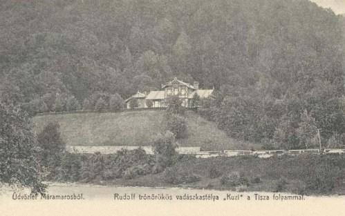Máramaros:Rudolf trónörökös Kuzi vadászkastélya.1904