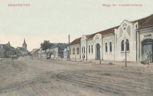 Nagyenyed:csendőr laktanya.1911
