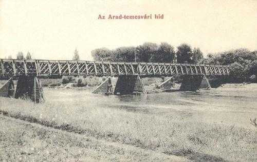 Arad-temesvári fa hid.1907