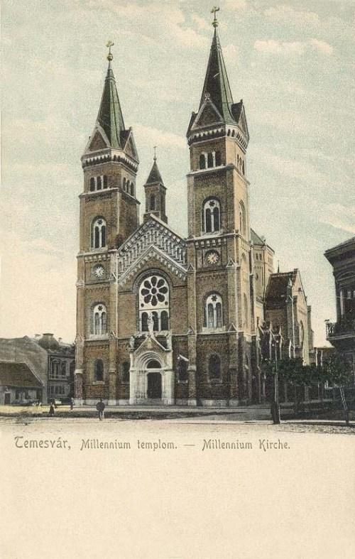 Temesvár:Milleniumi templom.1903