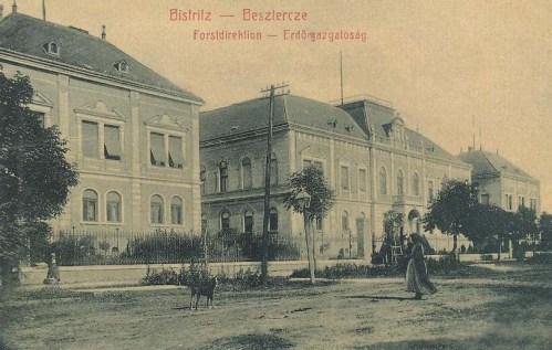 Beszterce:Erdőigazgatóság.1908