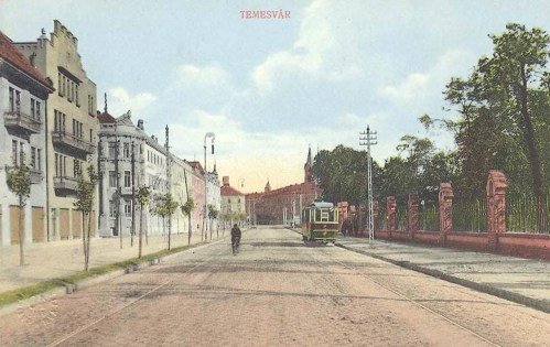 Temesvár:villamos.1913