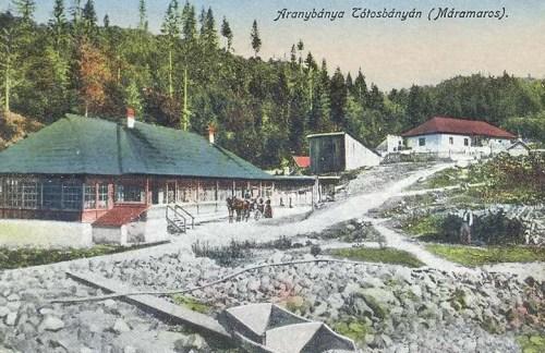 Tótosbánya:aranybánya.1916