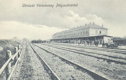 Vöröstorony:pályaudvar.1912