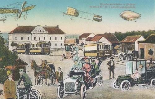 Dicsőszentmárton:a jövőben,száz év múlva.1912