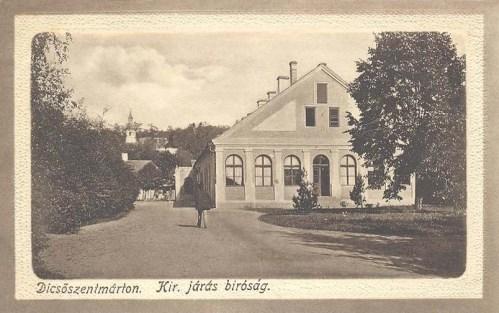 Dicsőszentmárton:királyi járásbiróság.1912
