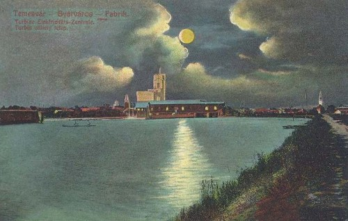 Temesvár:Turbina villany telep.( Gyárváros).1915
