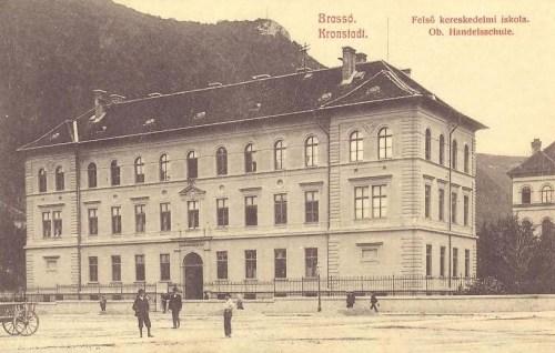 Brassó:Felső Kereskedelmi iskola.1909