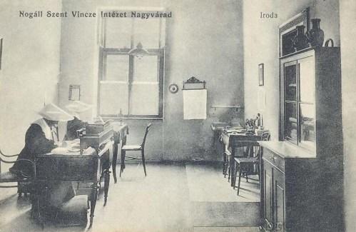 Nagyvárad:Nogáll Szent Vincze intézet,iroda.1914