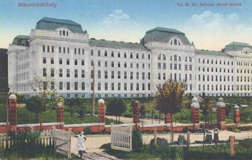 Marosvásárhely:császári és királyi katonai alreál iskola.1914