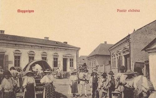 Magyarigen:piac.1908