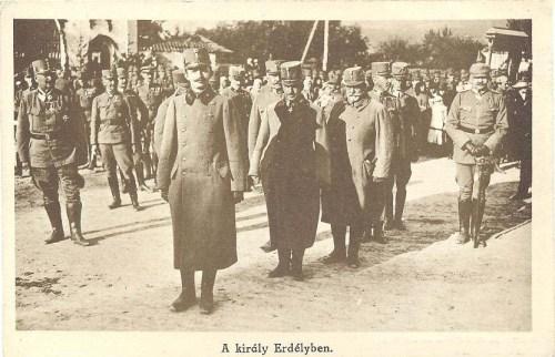 IV Károly király Erdélyben.1917