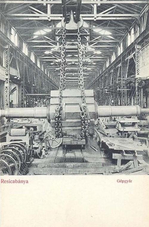 Resicabánya:gépgyár.1907