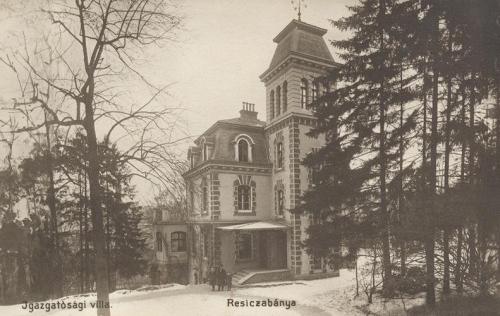 Resicza:gyár igazgatósági épület.1911