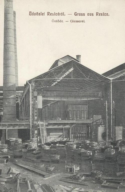 Resica:vas öntöde gyár.1909