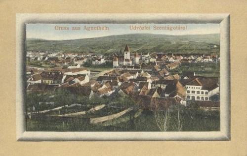 Szentágota:látkép.1912