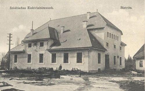 Beszterce:városi villanytelep.1912