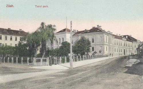 Zilah:Turul park.1911