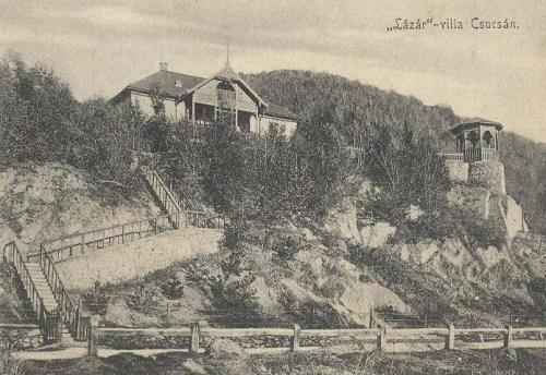 Csucsa:Lázár villa.1907