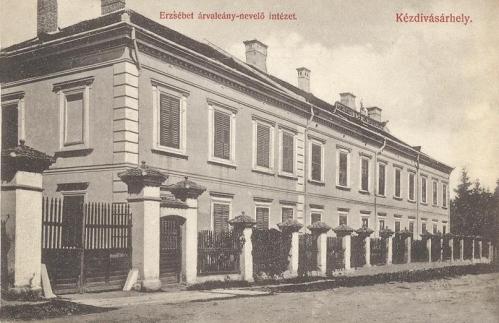 Kézdivásárhely:Erzsébet árvaleány nevelő intézet.1911