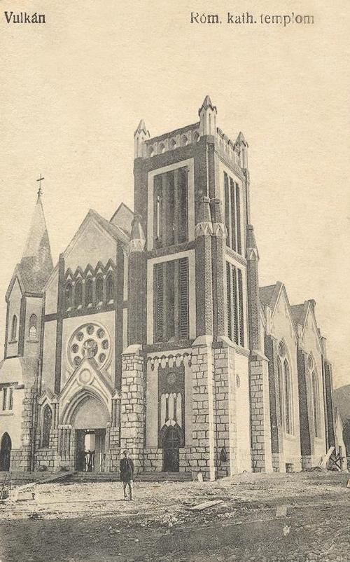 Vulkán:katolikus templom.1913