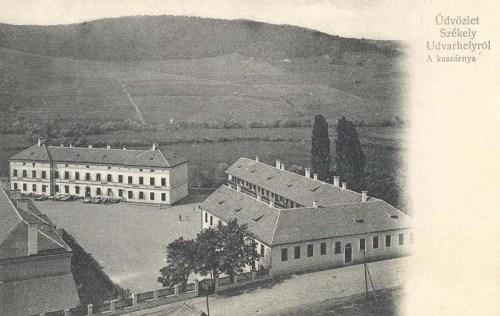 Székelyudvarhely:kaszárnya (laktanya).1904