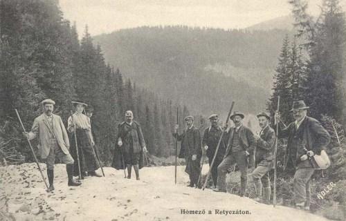 Retyezát:Hómező.1910