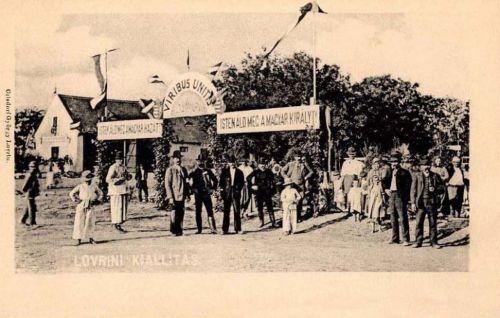 Lorántfalva-Lovrin:Mezőgazdasági Kiállitás.1905