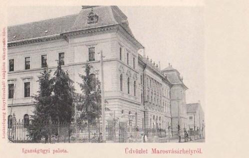 Marosvásárhely:Igazságügyi Palota.1897!
