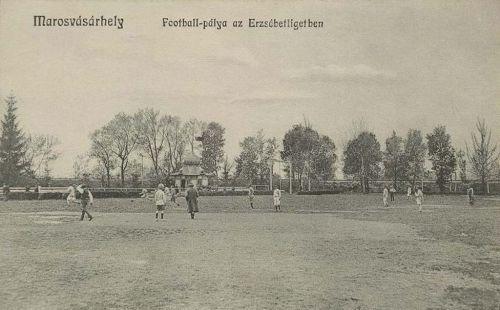 Marosvásárhely,fotball pálya 1909