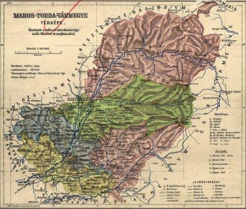 Maroshéviz:Maros-Torda vármegye,régeni felső járás.