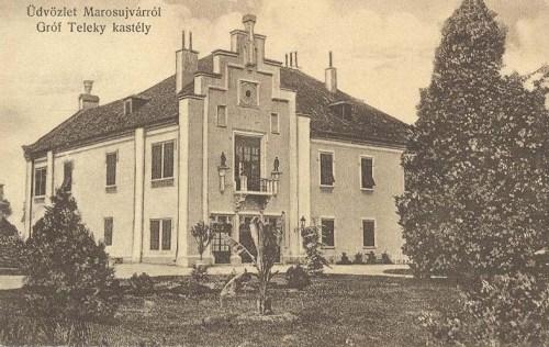Marosújvár:gróf Teleki kastély.1912