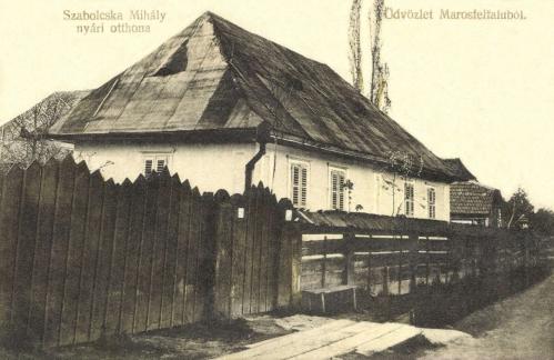 Marosfelfalu:Szabolcska Mihály költő nyári otthona,1912.