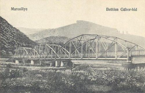 Marosillye:Bethlen Gábor hid.1916
