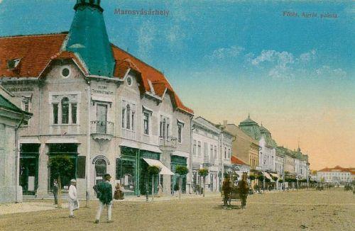 Marosvásárhely:Agrár takarékpénztár.1915
