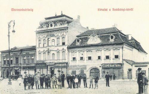 Marosvásárhely:Bányai és Toldalagi paloták.1908