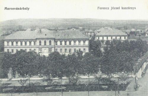 Marosvásárhely:Ferencz József kaszárnya.1916