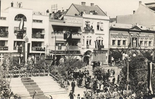 Marosvásárhely:bevonulási ünnepség.1940